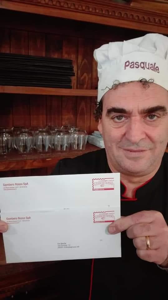 Pizzeria Da Marita: il ristorante pizzeria di Pasquale Marrazzo è di nuovo celebrato nelle guide del Gambero Rosso