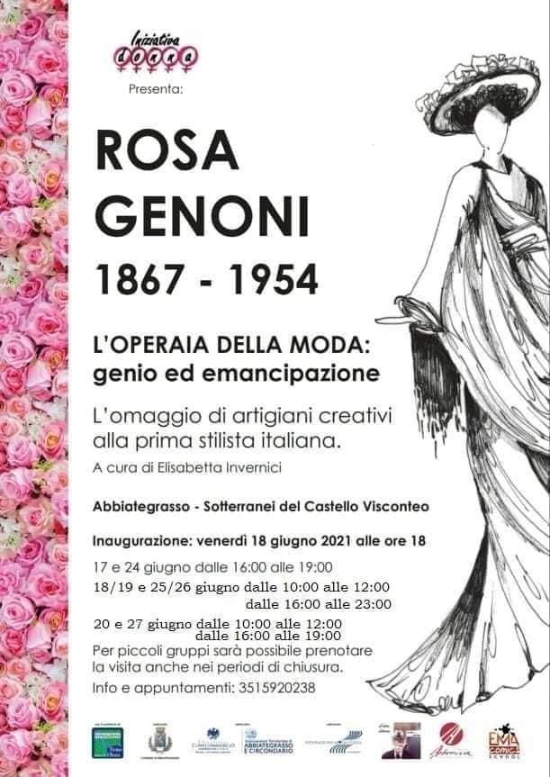 Rosa Genoni, l'Operaia della moda: genio ed emancipazione. Iniziativa Donna celebra la grande stilista