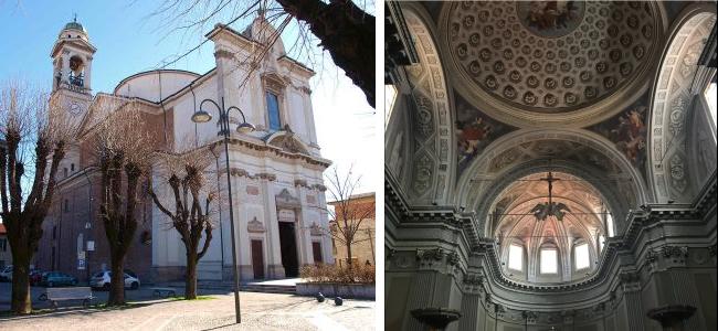 La chiesa di San Giovanni Battista di Robecco