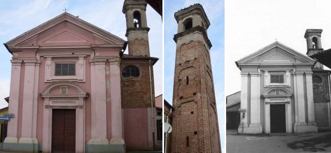 La chiesa di Santa Maria del Girone o di Sant'Anna di Motta Visconti