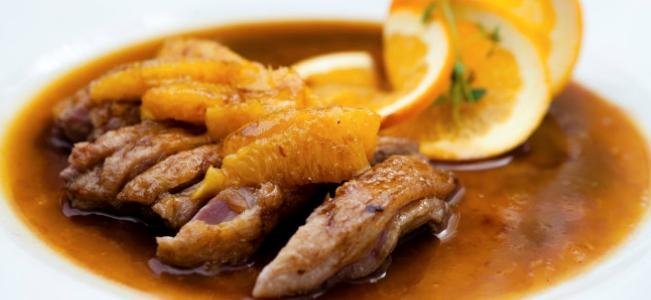 Le ricette colorate di ParCo Naviglio: petto d'anatra all'arancia