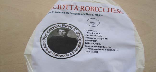 La Caciotta Robecchese: un prodotto a metri zero