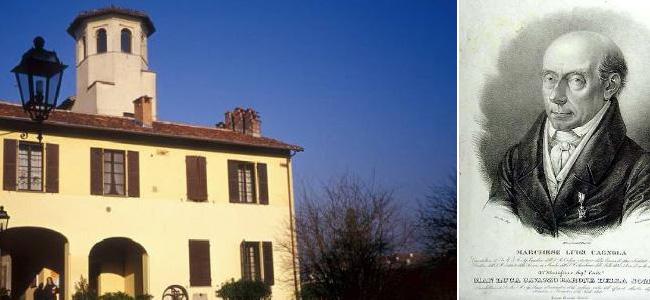 Ozzero, l'architetto Luigi Cagnola