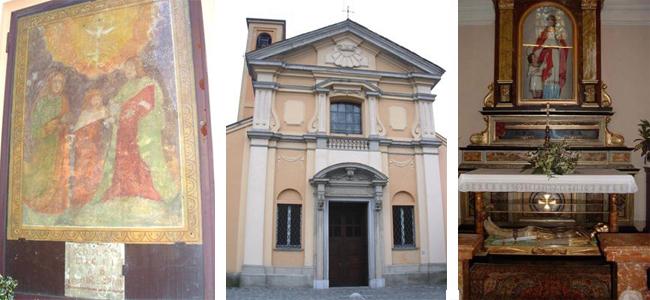 La chiesa dei Santi Quirico e Giulitta di Gudo Visconti