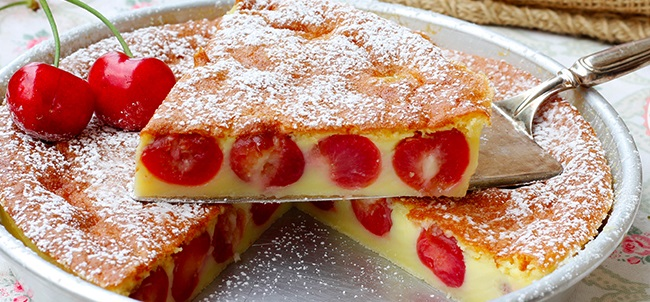 clafoutis di ciliegie super peppino
