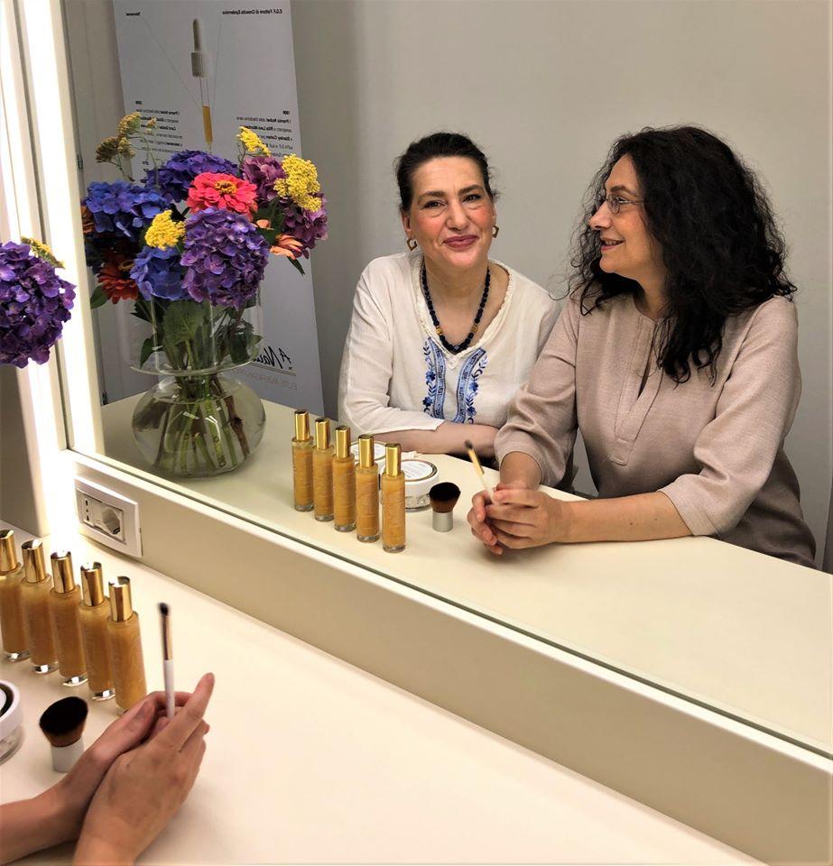 Sabrina e Cinzia Angi, A44 Beauty Boutique: leggerezza, sorriso e formazione continua per un approccio diverso all'universo del Benessere