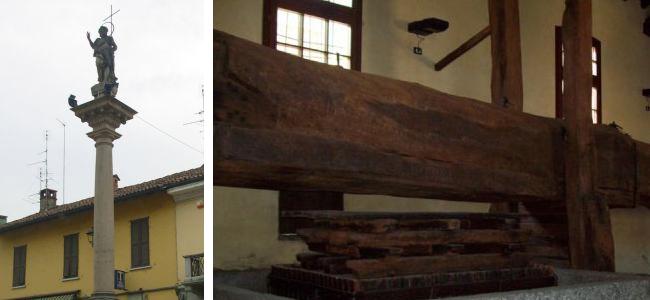 La Colonna di San Giovanni di Motta Visconti