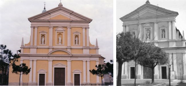 La chiesa di San Giovanni Battista di Cisliano