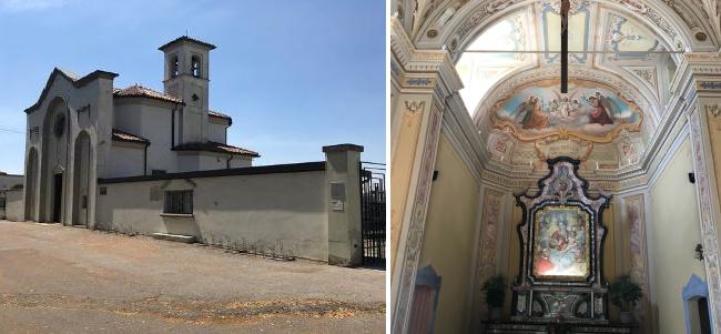 La chiesa di Santa Maria della Rosa e il dipinto miracoloso