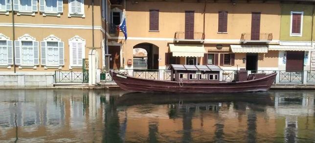 El barchett di Boffalora sul Naviglio Grande