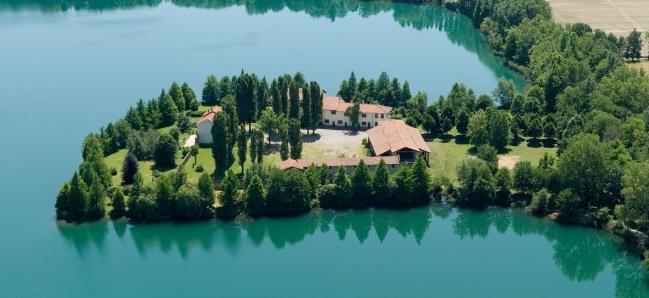 Il lago Boscaccio