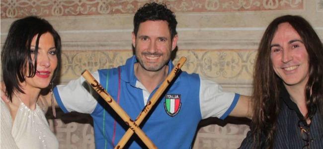 Luca Ravera: Motta Visconti celebra il campione in una serata di festa venerdì 13 gennaio