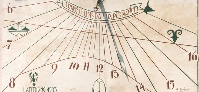 Meridiana: strumento antico o forma d'arte?