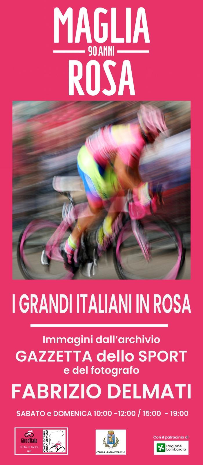 Abbiategrasso: a Palazzo Stampa mostre in rosa per il Giro d'Italia