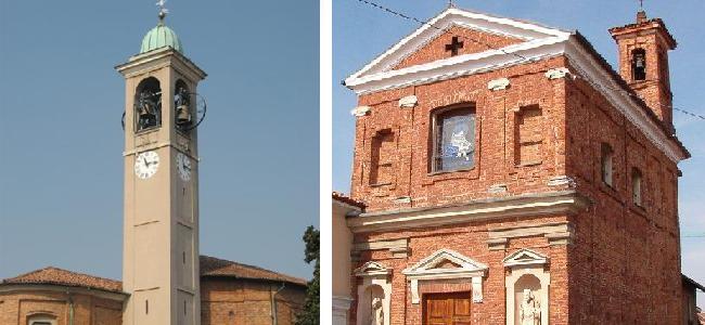 La chiesa di Santa Maria della Neve di Bareggio