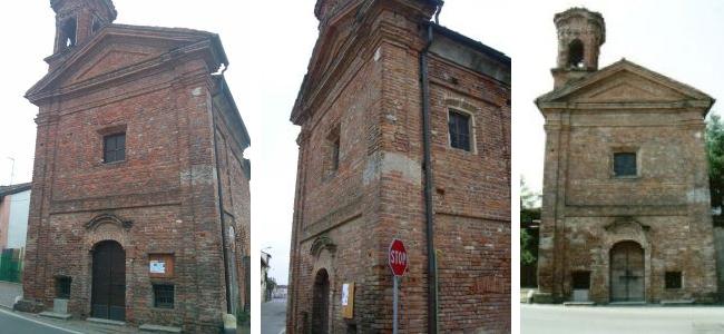 La chiesa di San Rocchino di Motta Visconti