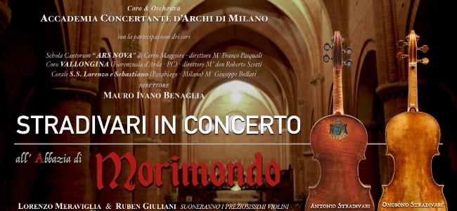 Stradivari in concerto all'abbazia di Morimondo venerdì 21 aprile