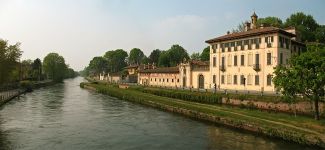Itinerario fra le Ville del Naviglio Grande